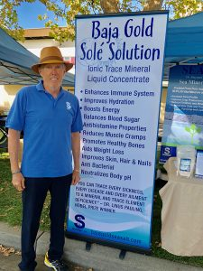 SeaAgri founder, Robert Cain Heirloom Festival 9/2018